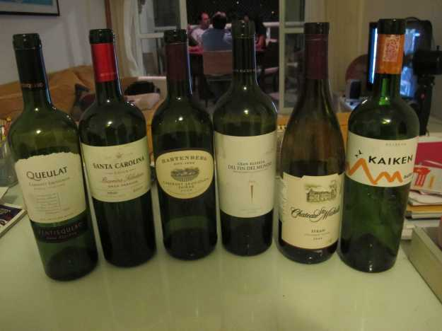 Noite de bela comida e também de belos vinhos.. Tudo harmonizado de maneira perfeita...