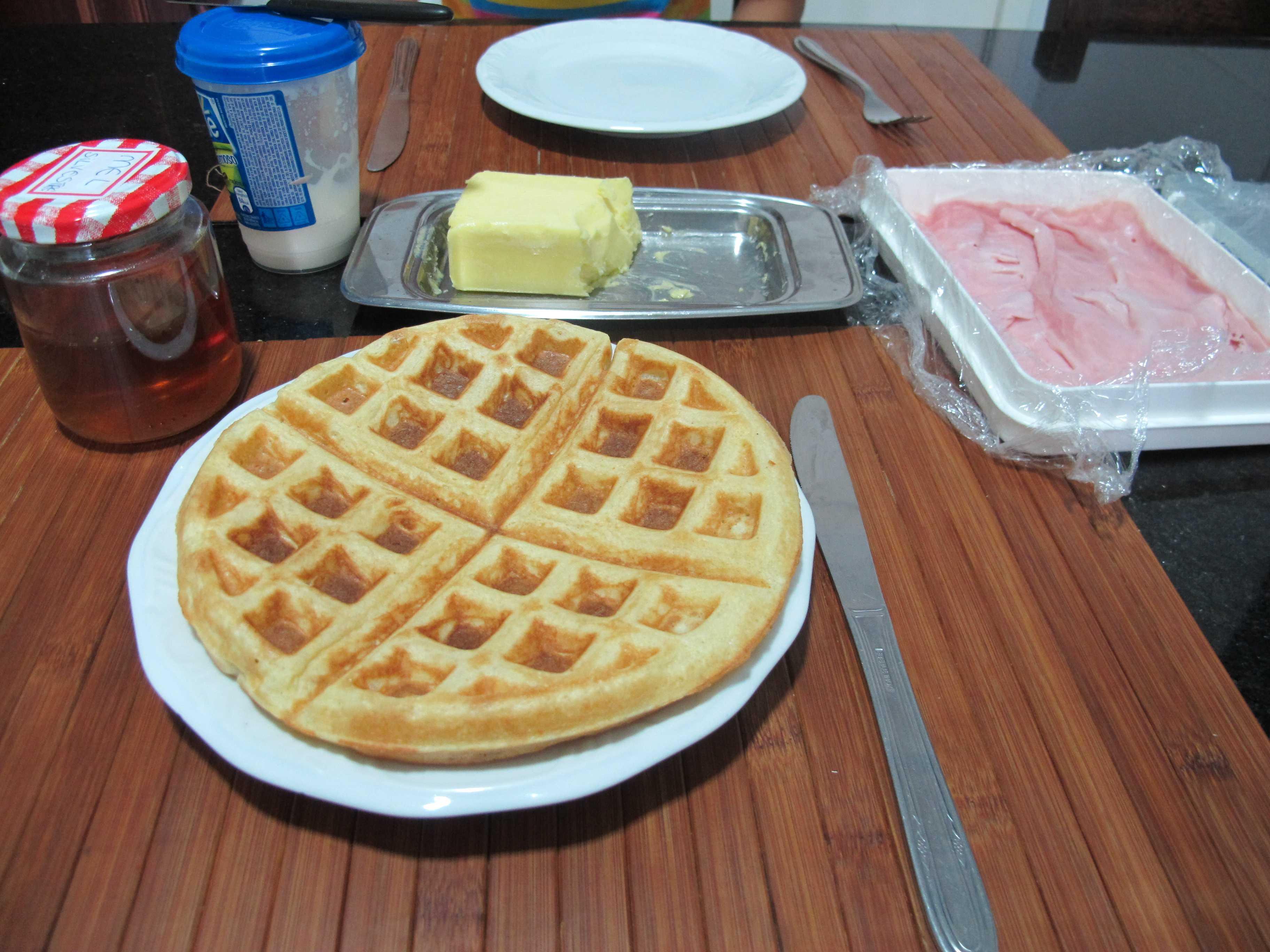 Favoritos Waffle.. Massa simples, rápida e perfeita para um café da manhã  XI46