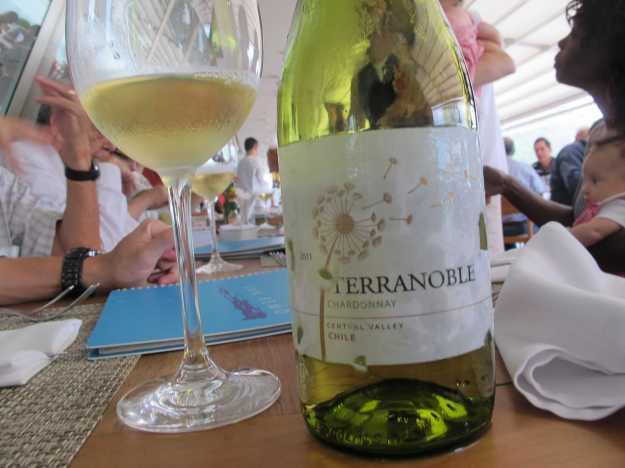 Terranoble Chardonnay.. Bom preço e um vinho bem fresco para a tarde...